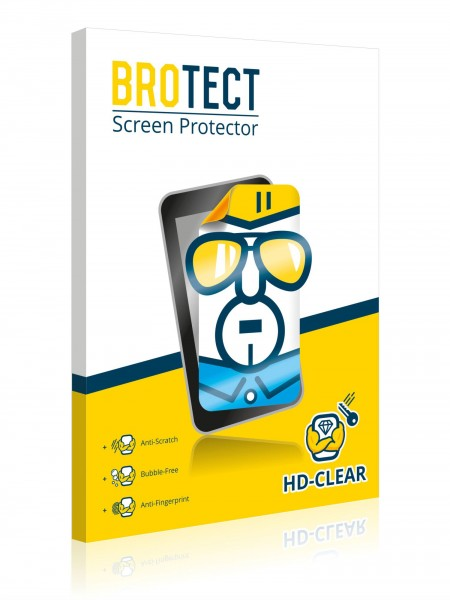 2x BROTECTHD-Clear Screen Protector Meizu MX6