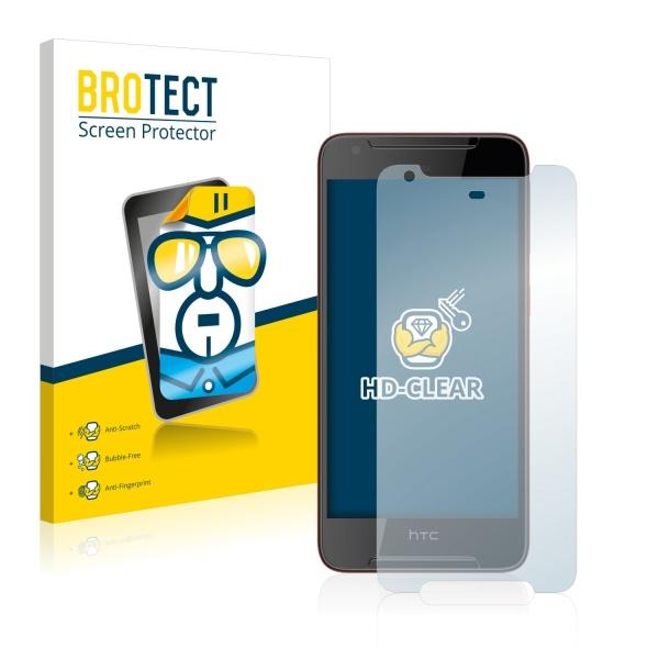 2x BROTECTHD-Clear Screen Protector HTC Desire 628