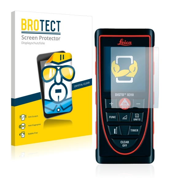 2x BROTECTHD-Clear Screen Protector Leica DISTO X310