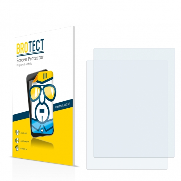2x BROTECTHD-Clear Screen Protector PocketBook Sense 630