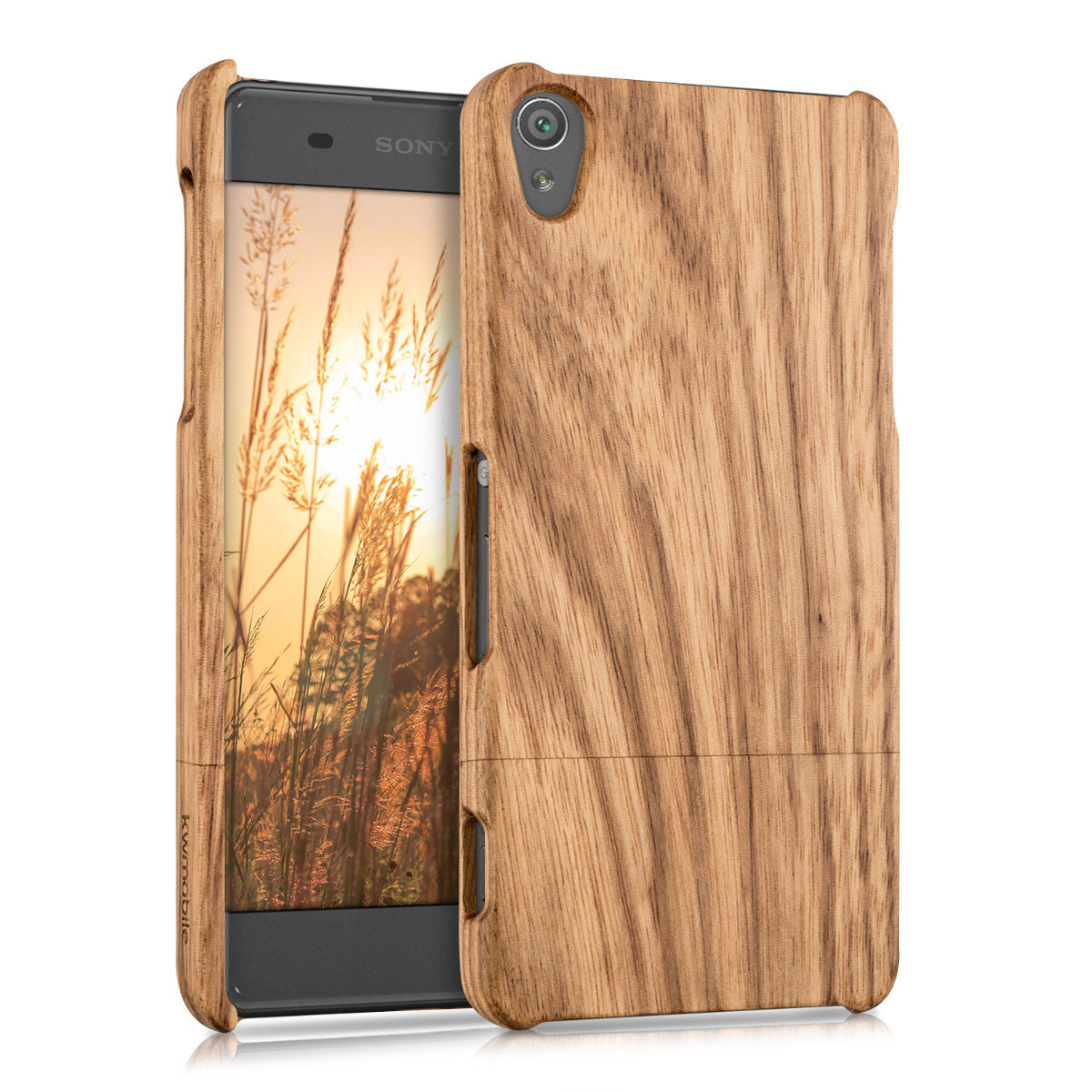 Pouzdro pro Sony Xperia XA dřevo