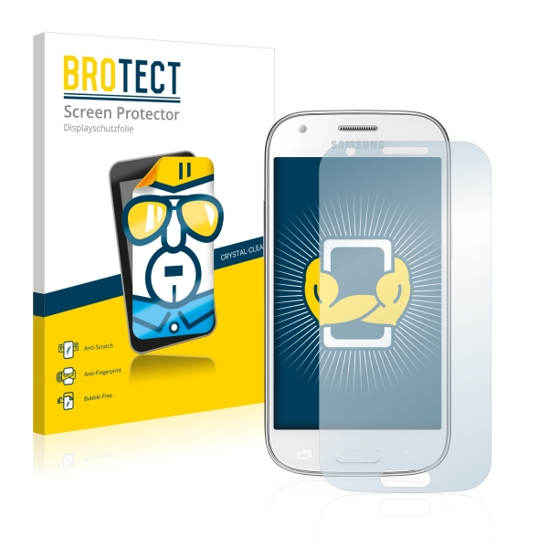 2x BROTECTHD-Clear Screen Protector Samsung Galaxy Ace 4 SM-G357