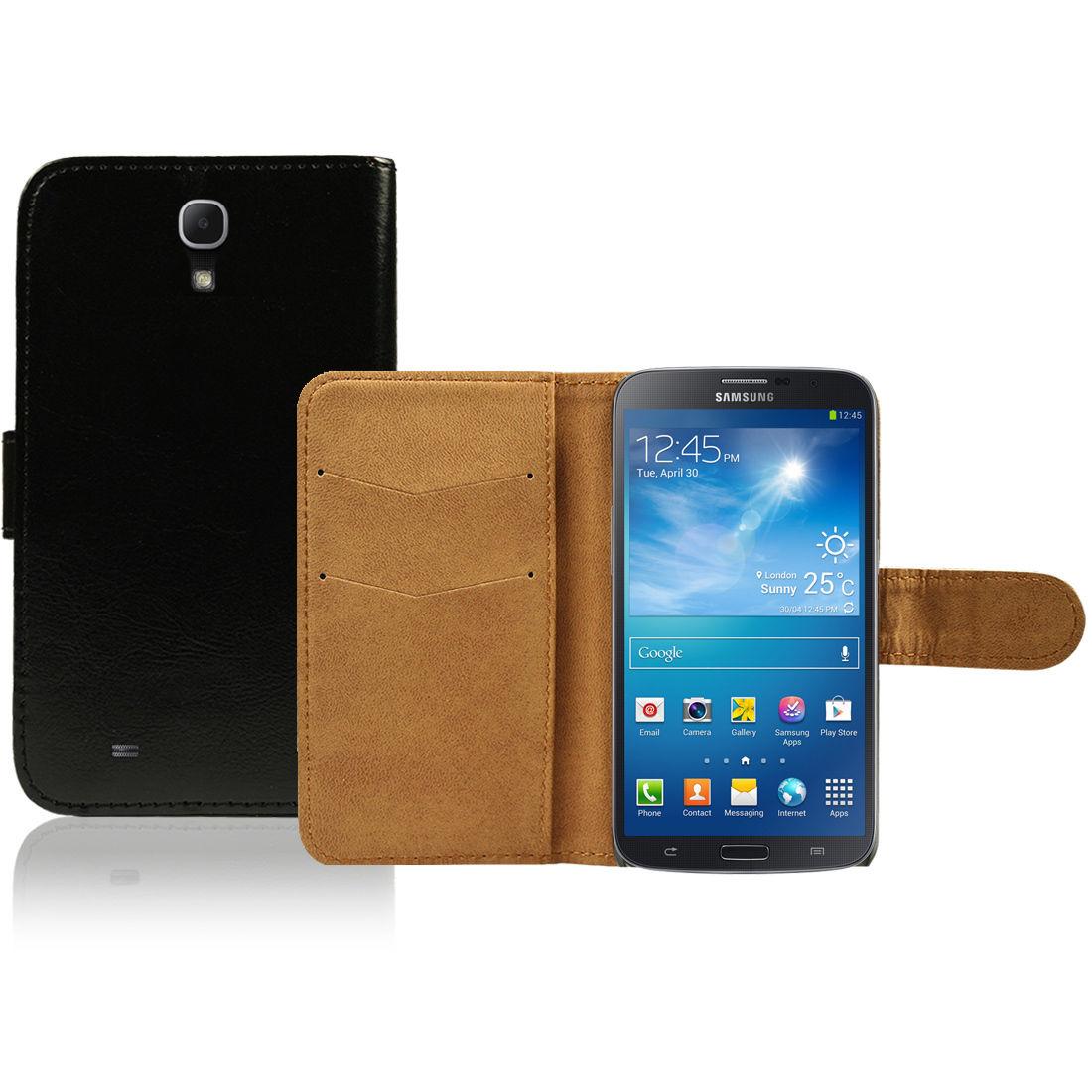 Pouzdro pro Samsung Galaxy Mega 6.3 I9200 černé