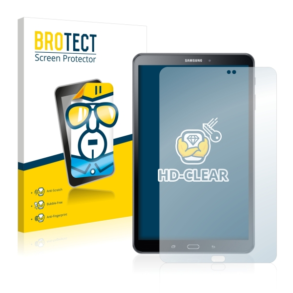 2x BROTECTHD-Clear Screen Protector Samsung Galaxy Tab A 10.1 (2016)