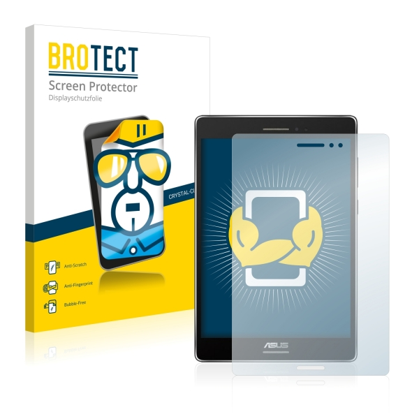 2x BROTECTHD-Clear Screen Protector Asus ZenPad S 8.0