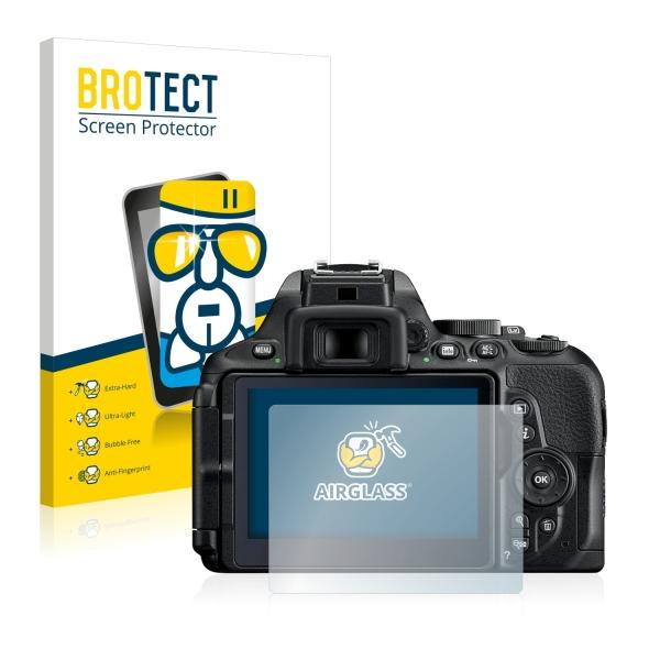 AirGlass Premium Glass Screen Protector Nikon D5600