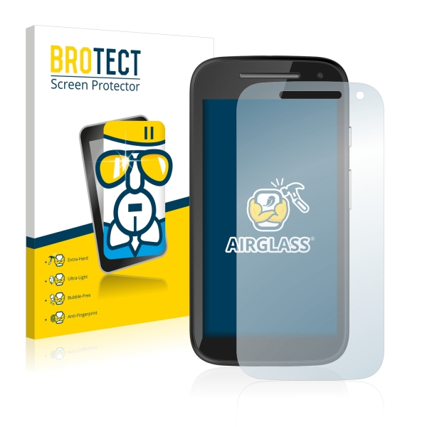 AirGlass Premium Glass Screen Protector Motorola Moto E (2nd Gen)