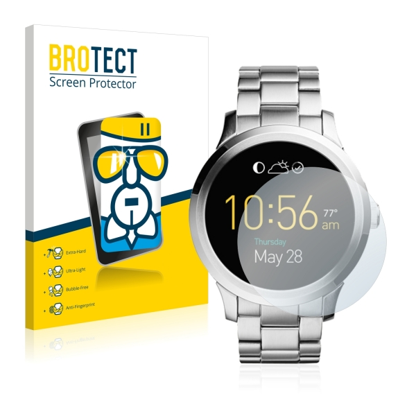 AirGlass Premium Glass Screen Protector Fossil Q Founder
