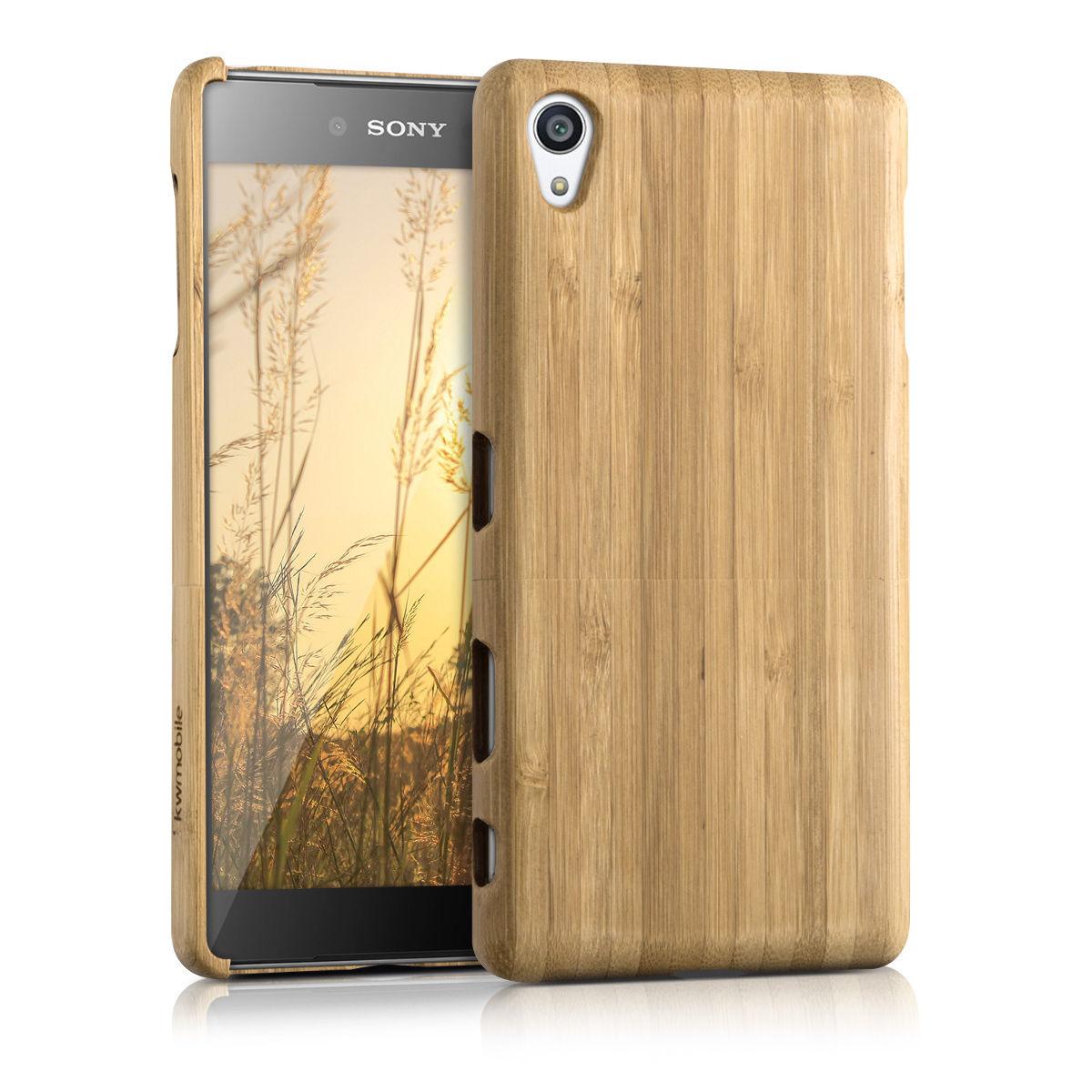 Pouzdro pro Sony Xperia Z5 Premium bambus