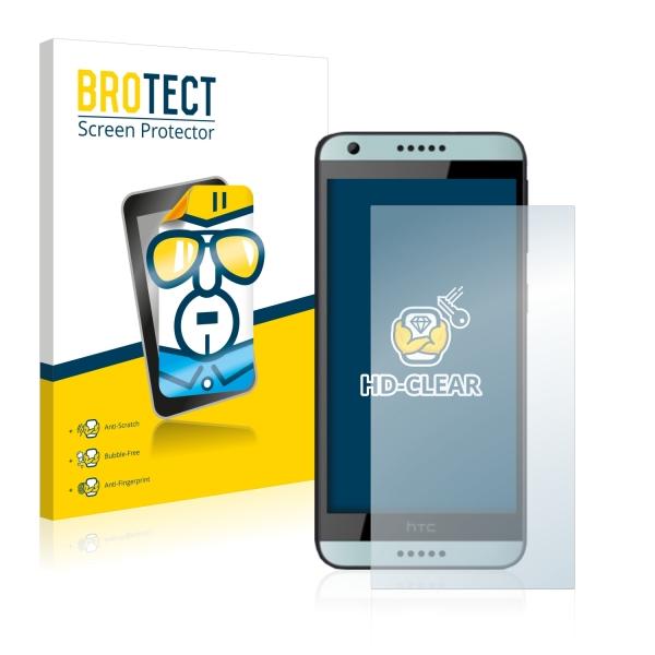 2x BROTECTHD-Clear Screen Protector HTC Desire 650
