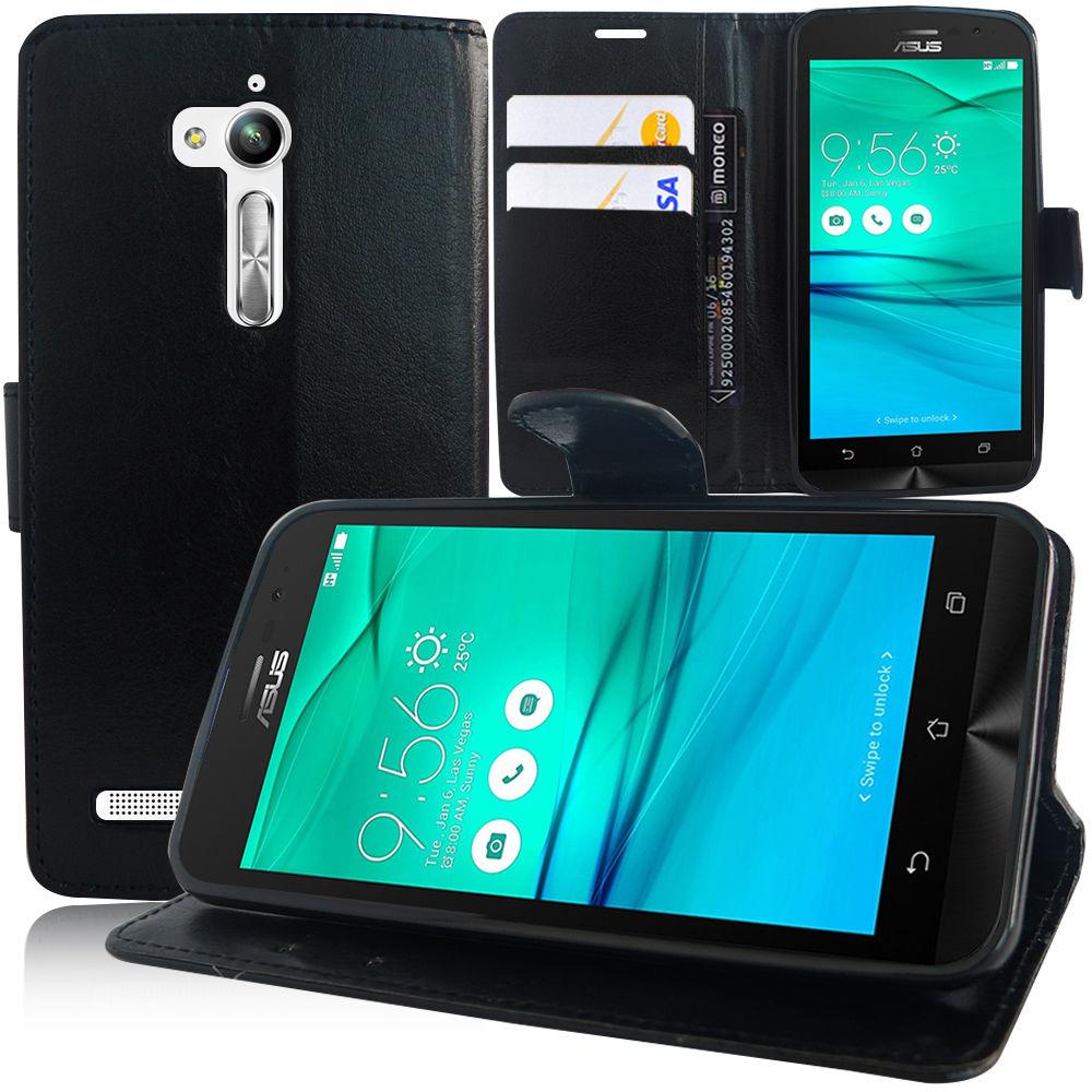 Pouzdro pro Asus Zenfone Go ZB500KG černé