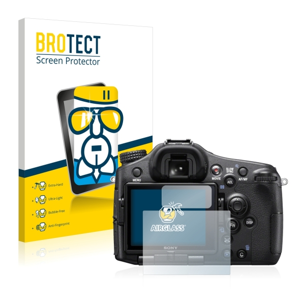 AirGlass Premium Glass Screen Protector Sony Alpha 77 II (SLT-A77 II)