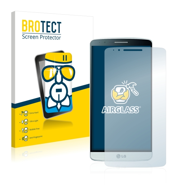 AirGlass Premium Glass Screen Protector LG G3 D855