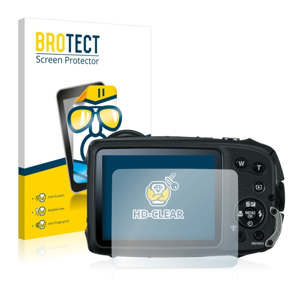 2x BROTECTHD-Clear Screen Protector FujiFilm FinePix XP120