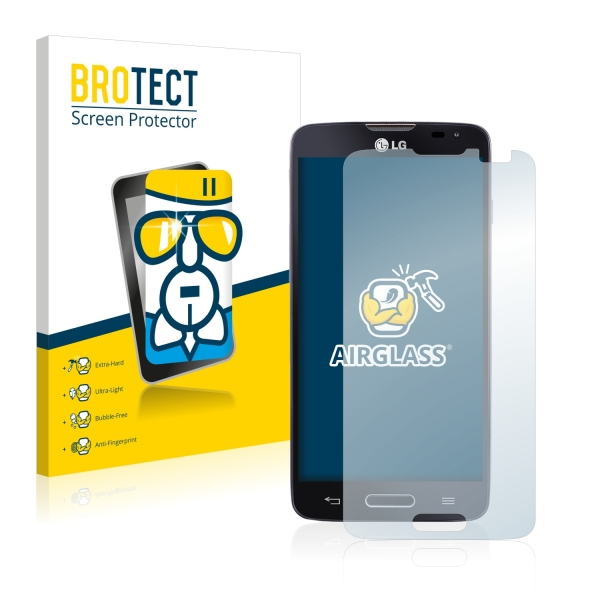 AirGlass Premium Glass Screen Protector LG L90 D405