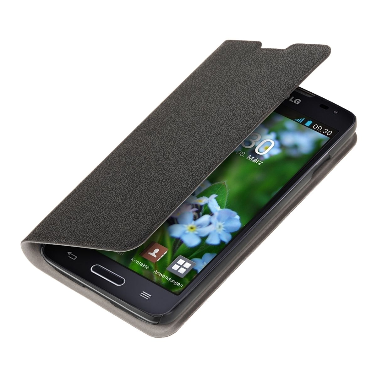Pouzdro FLIP pro LG L90 D405 černé