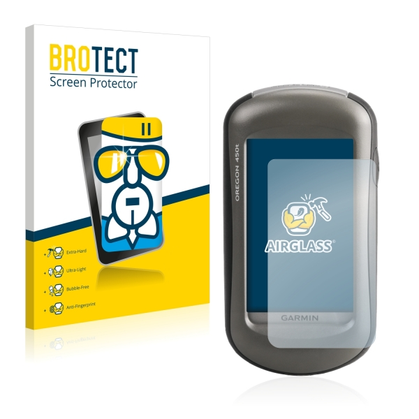 AirGlass Premium Glass Screen Protector Garmin Oregon 450