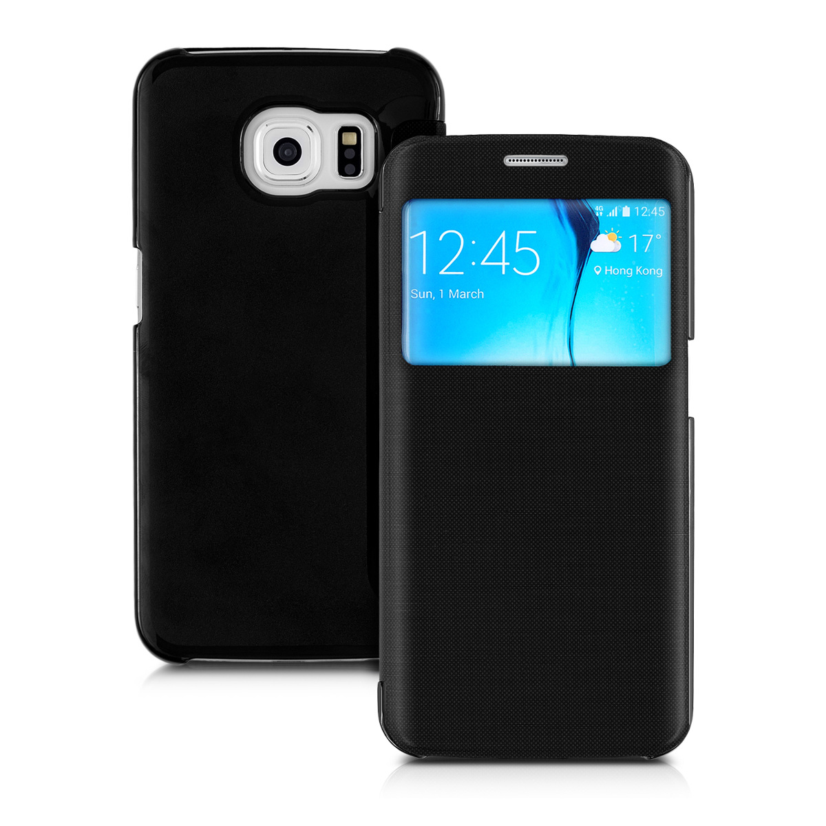 Pouzdro WIN pro Samsung Galaxy S6 Edge černé