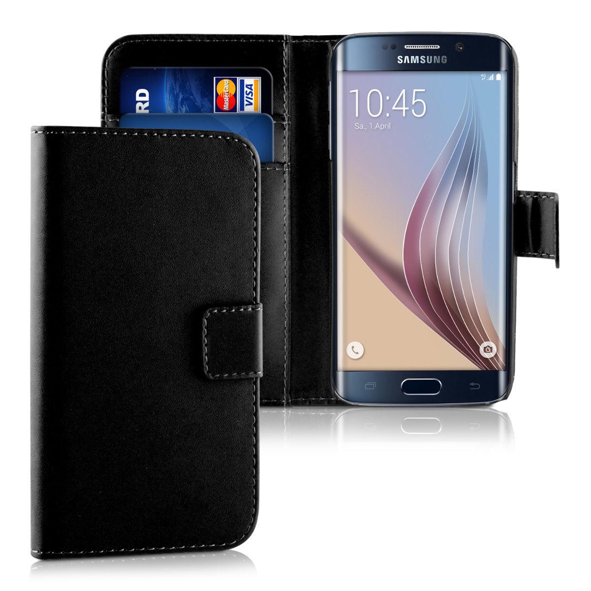 Pouzdro FLIP pro Samsung Galaxy S6 Edge černé