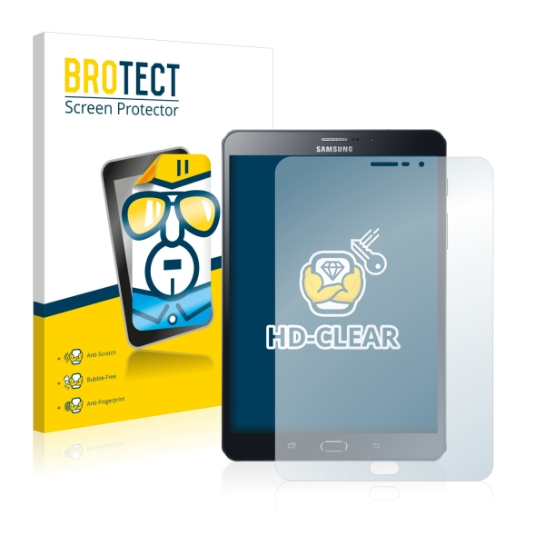 2x BROTECTHD-Clear Screen Protector Samsung Galaxy Tab S2 8.0