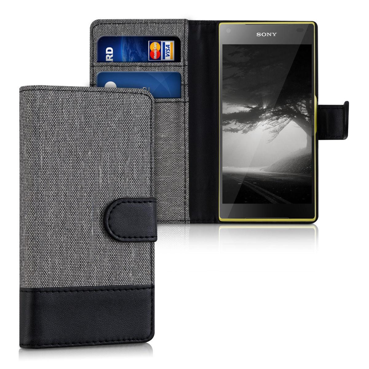 Pouzdro pro Sony Xperia Z5 Compact šedé
