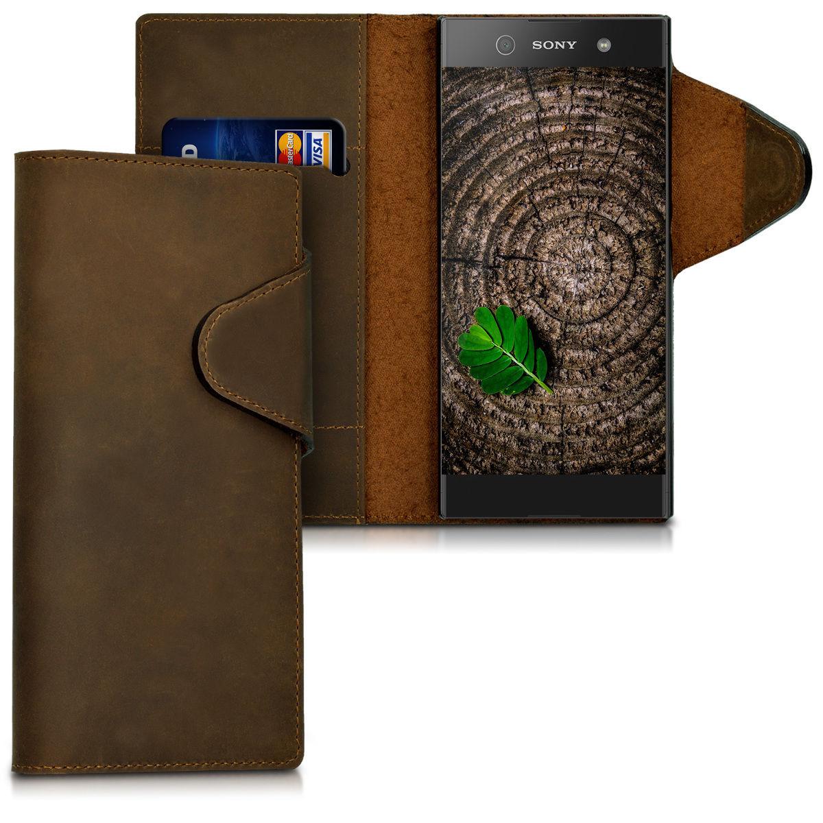 Pouzdro pro Sony Xperia XA1 hnědé