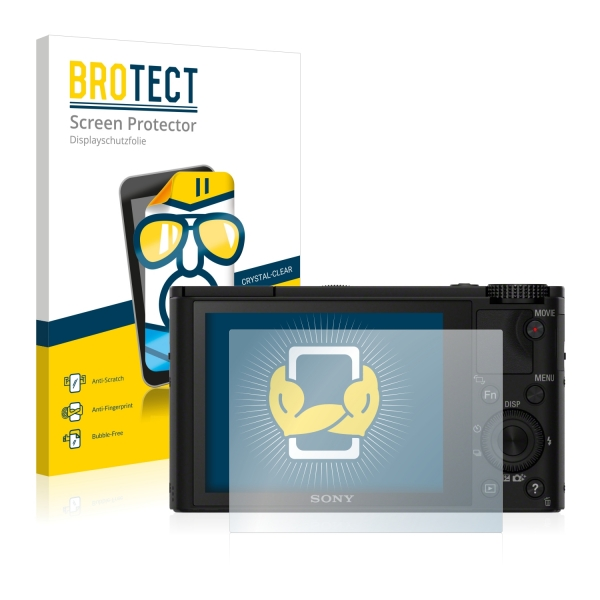 2x BROTECTHD-Clear Screen Protector Sony Cyber-Shot DSC-RX100