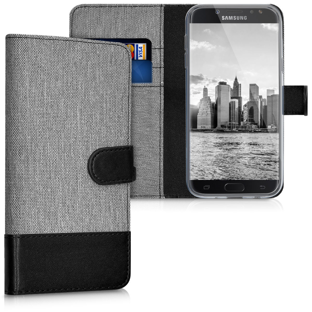 Pouzdro pro Samsung Galaxy J5 (2017) šedé