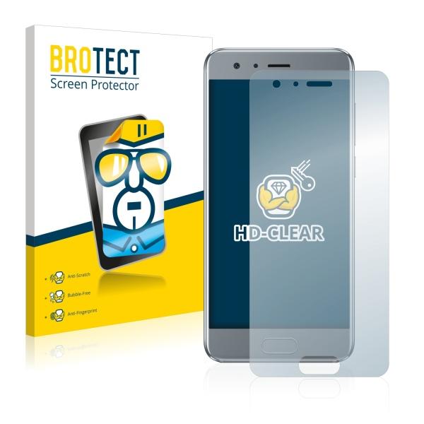 2x BROTECTHD-Clear Screen Protector Huawei Honor 9