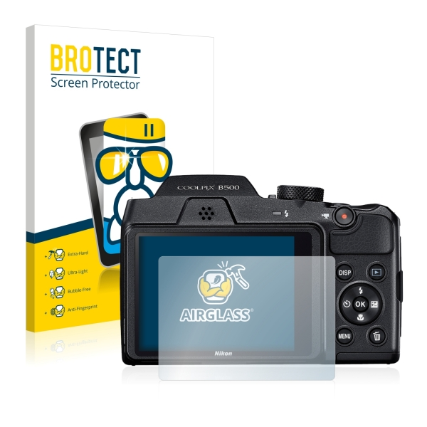 AirGlass Premium Glass Screen Protector Nikon Coolpix B500