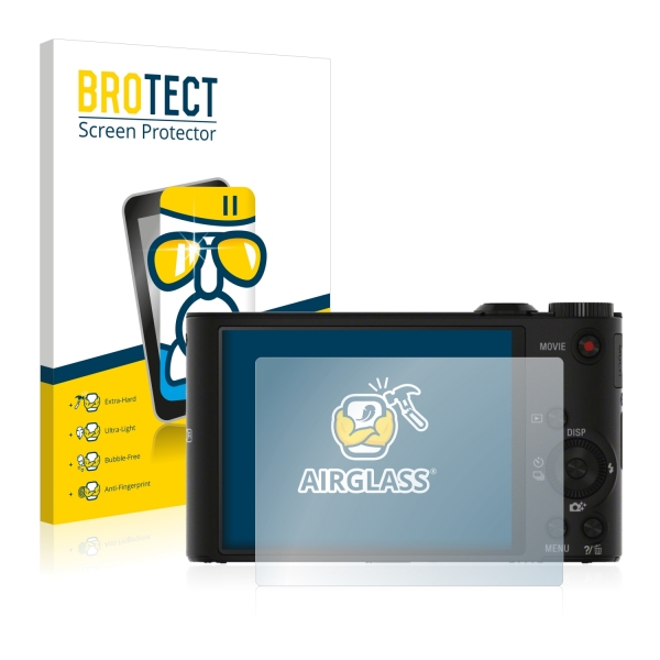 AirGlass Premium Glass Screen Protector Sony Cyber-shot DSC-WX350