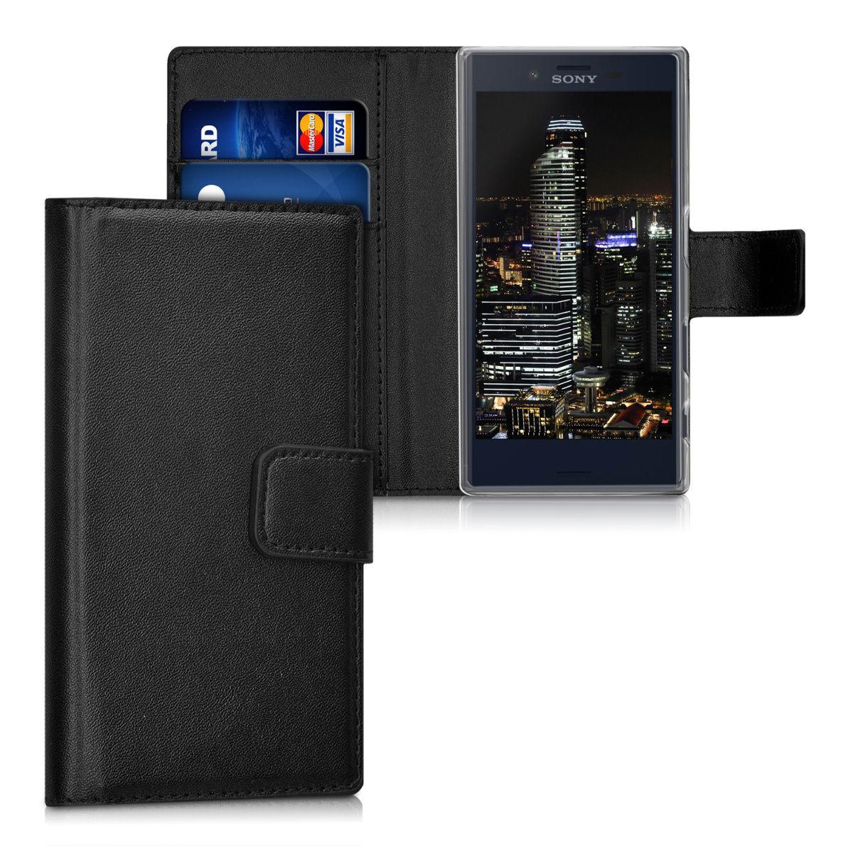 Pouzdro FLIP pro Sony Xperia X Compact černé