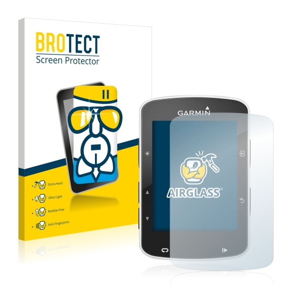 AirGlass Premium Glass Screen Protector Garmin Edge 520