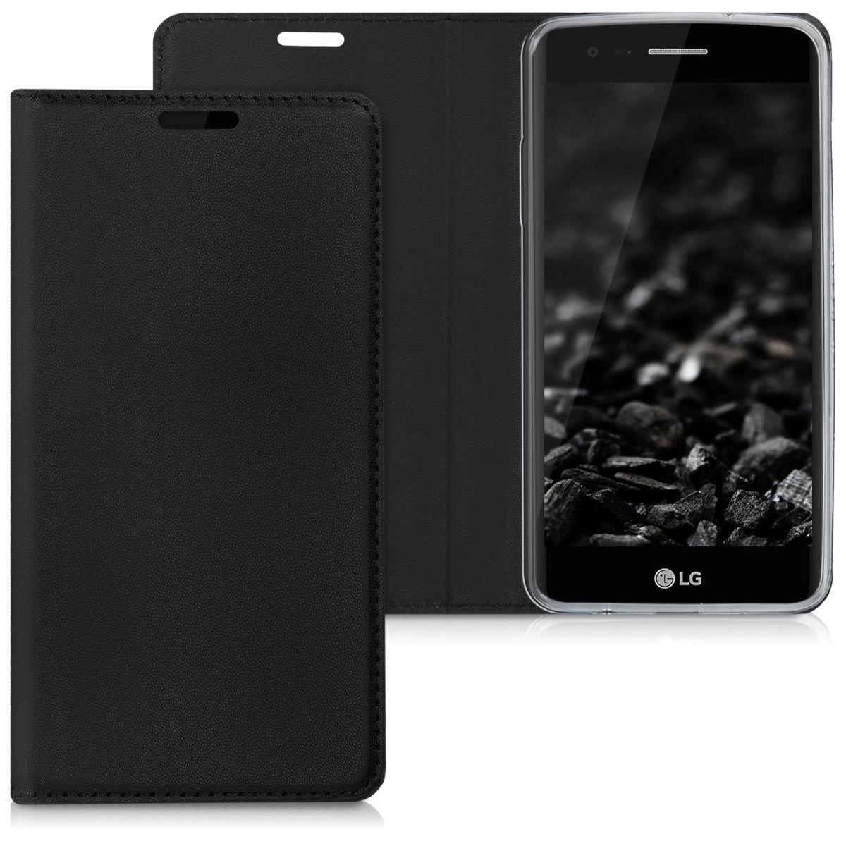 Pouzdro FLIP pro LG K8 (2017) černé