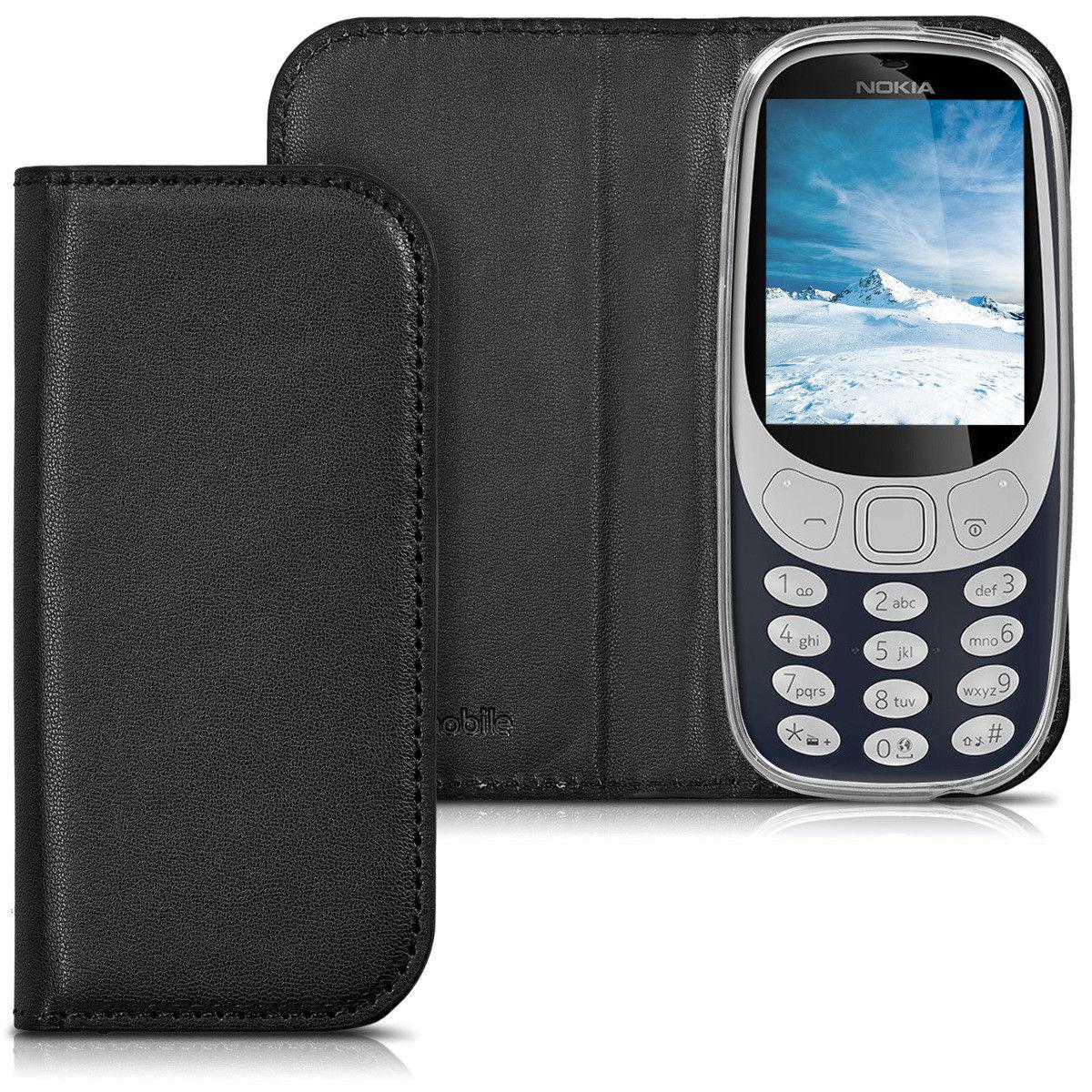 Pouzdro FLIP pro Nokia 3310 (2017) černé