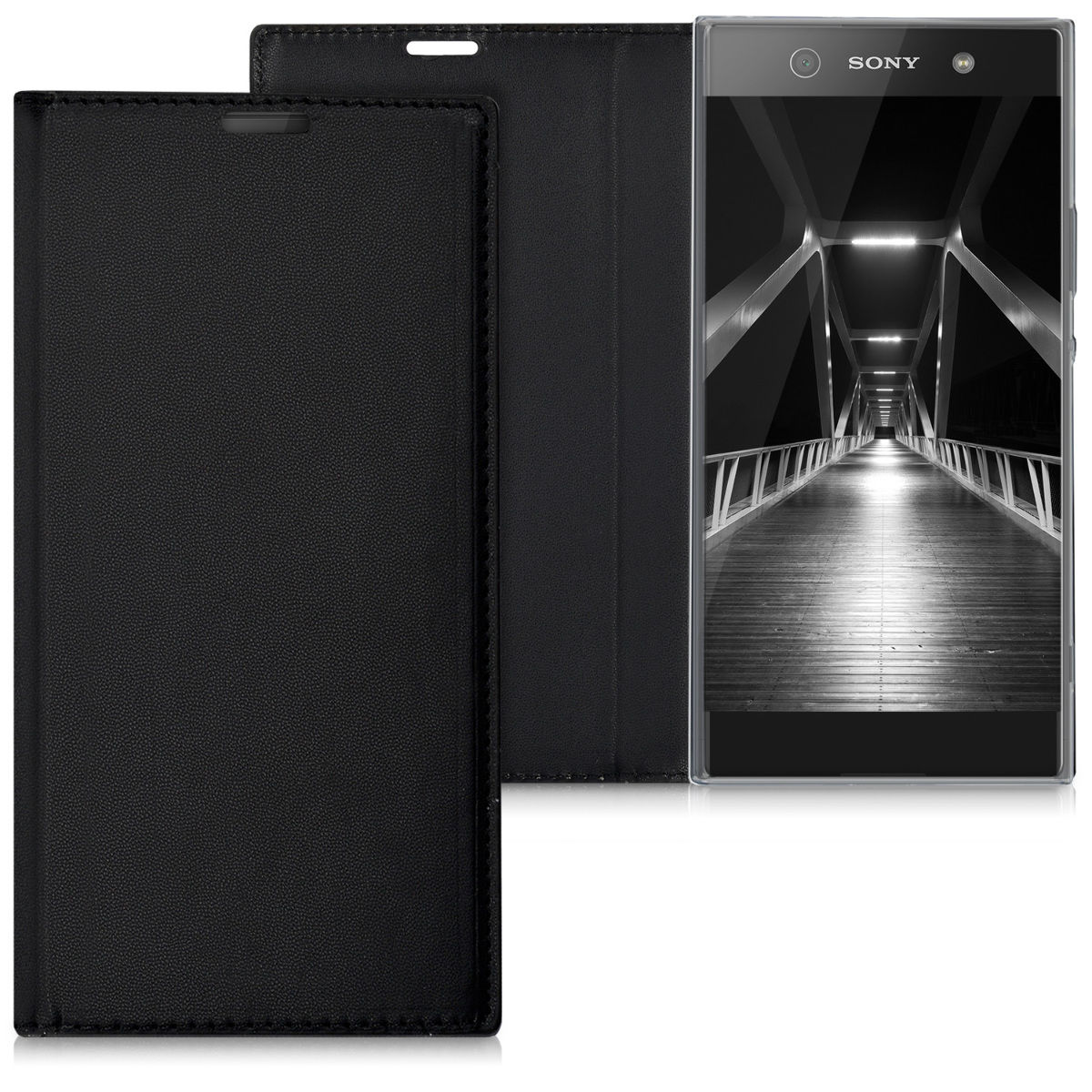 Pouzdro FLIP pro Sony Xperia XA1 Ultra černé