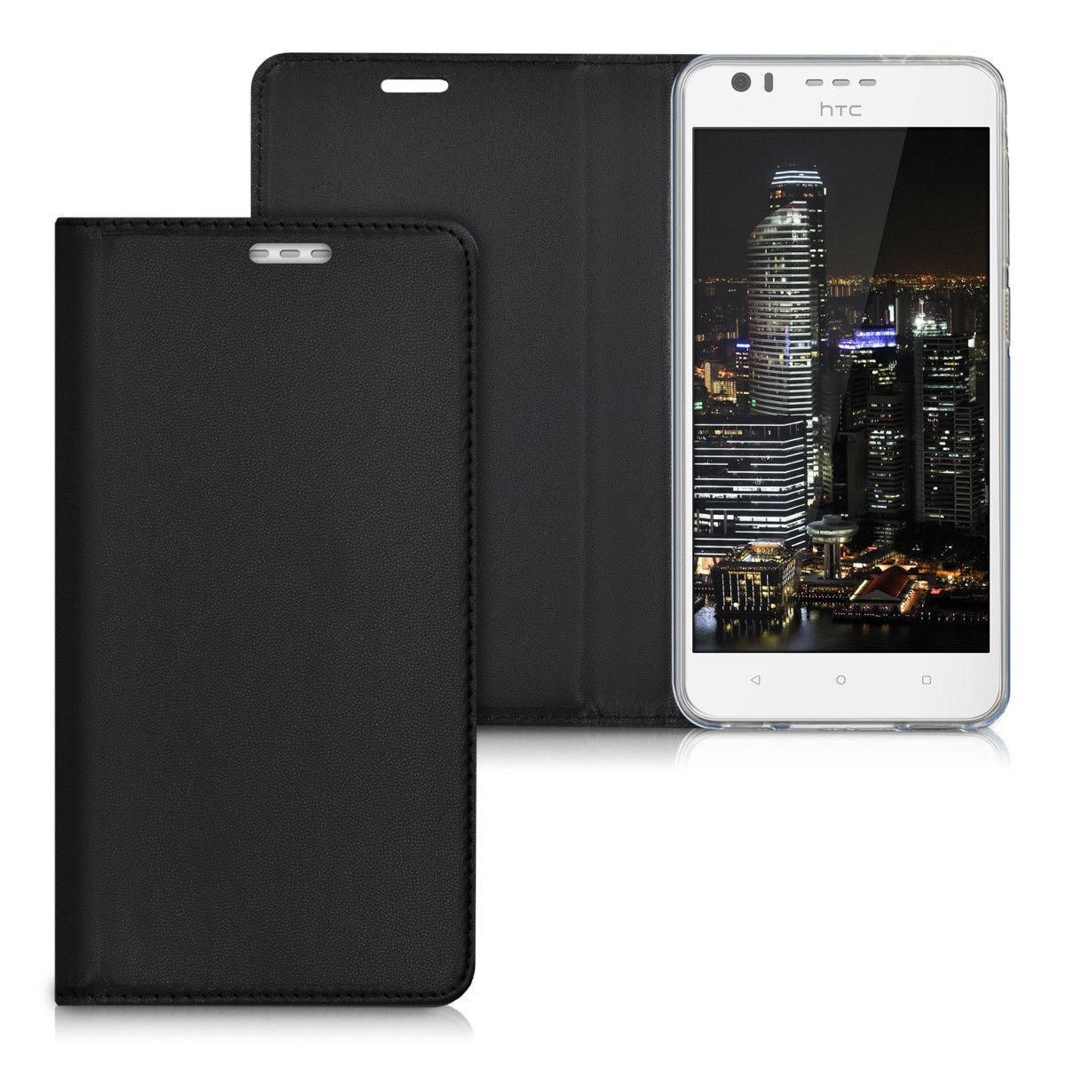 Pouzdro FLIP pro HTC Desire 10 Lifestyle černé