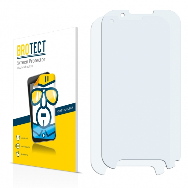 2x BROTECTHD-Clear Screen Protector Evolveo StrongPhone D2