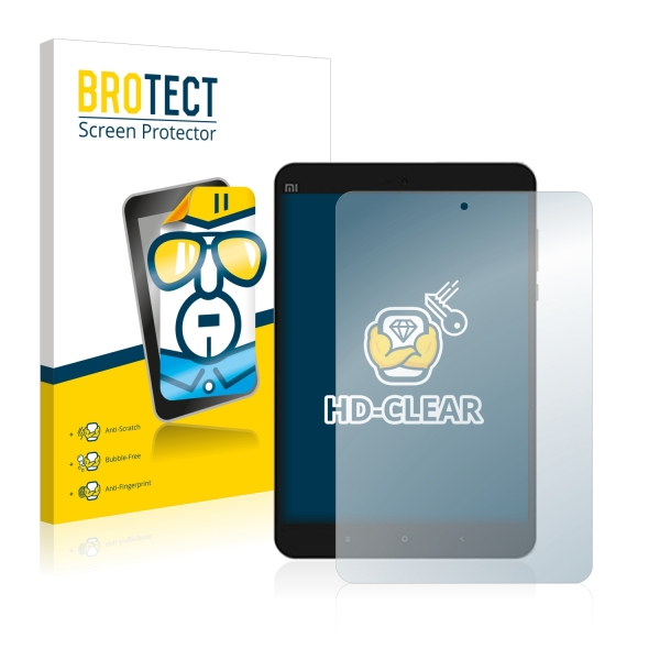 2x BROTECTHD-Clear Screen Protector Xiaomi Mi Pad 3