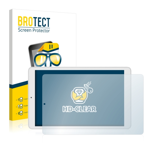 2x BROTECTHD-Clear Screen Protector Alcatel Pixi 3 (10.0)