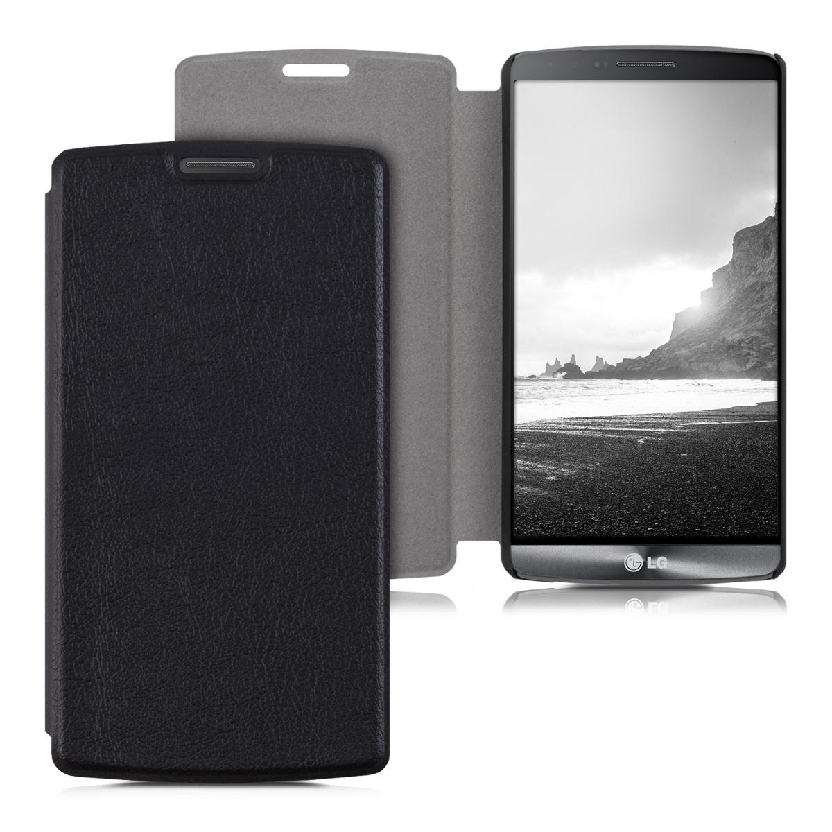 Pouzdro FLIP pro LG G3 černé