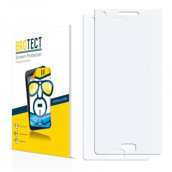 2x BROTECTHD-Clear Screen Protector BlackBerry Motion