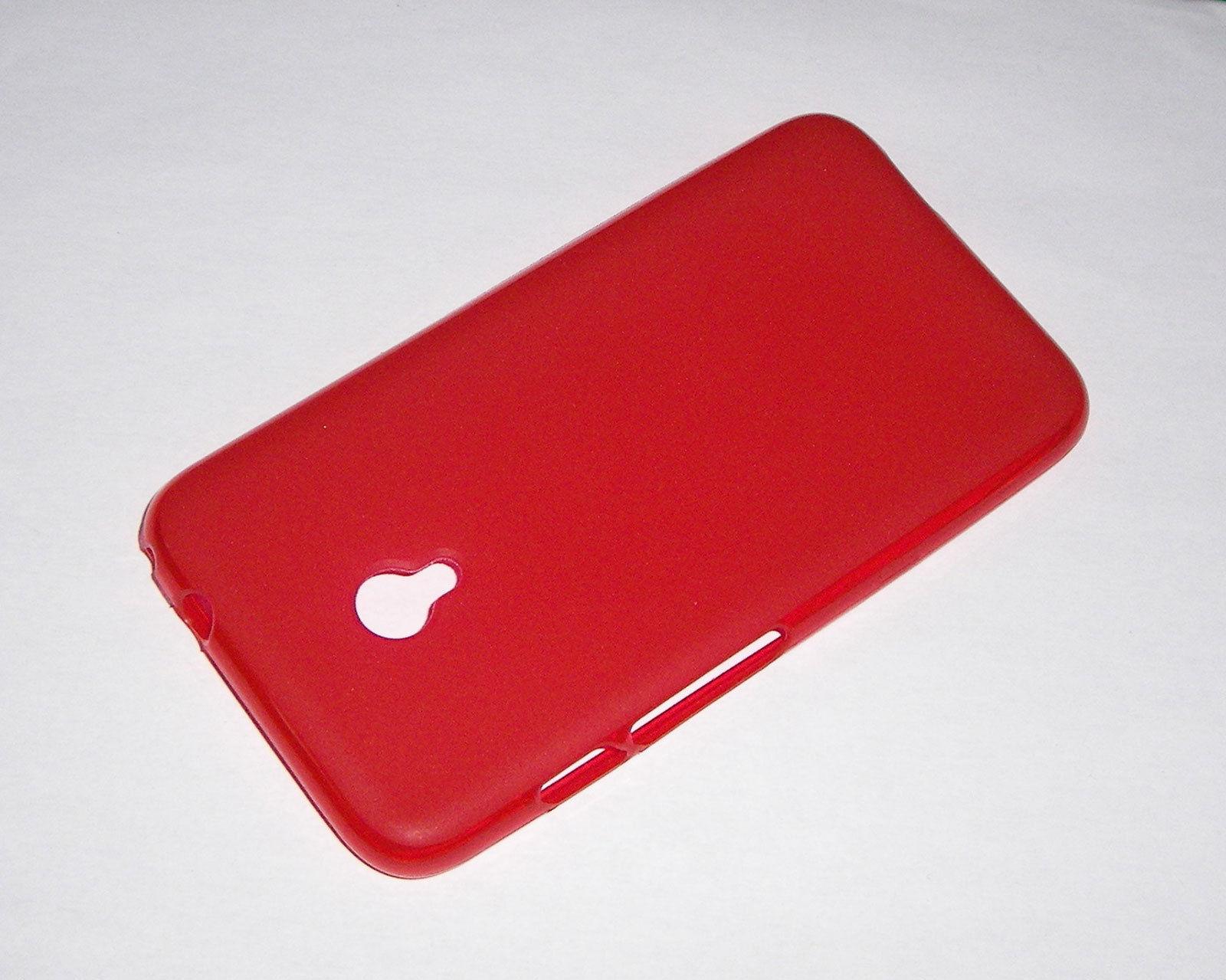 Pouzdro GEL Vodafone Smart Turbo 7 červené