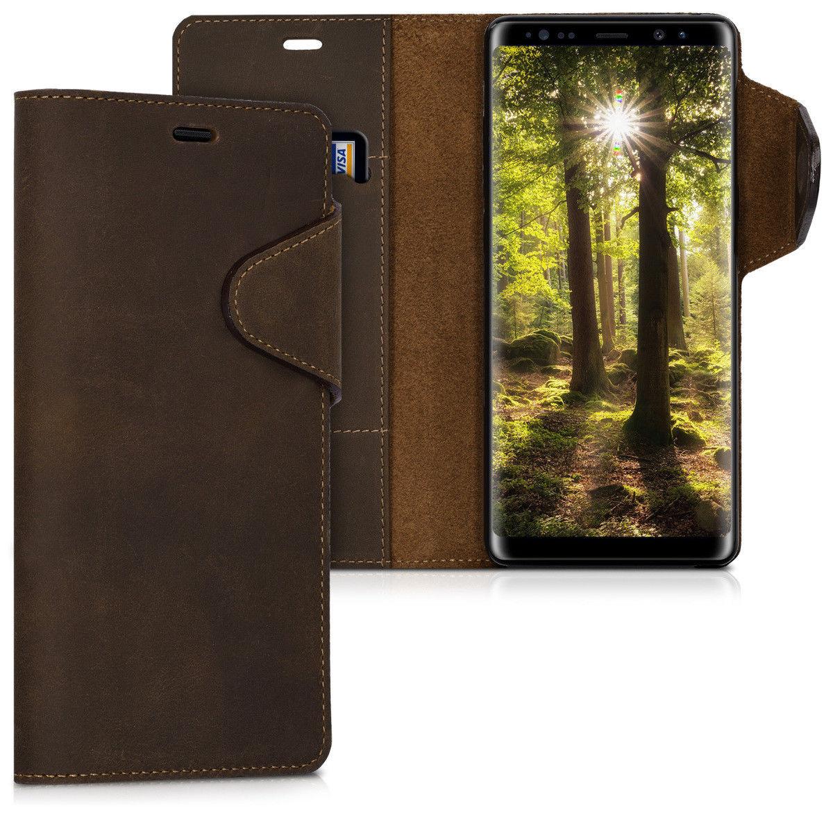 Pouzdro pro Samsung Galaxy Note 8 hnědé