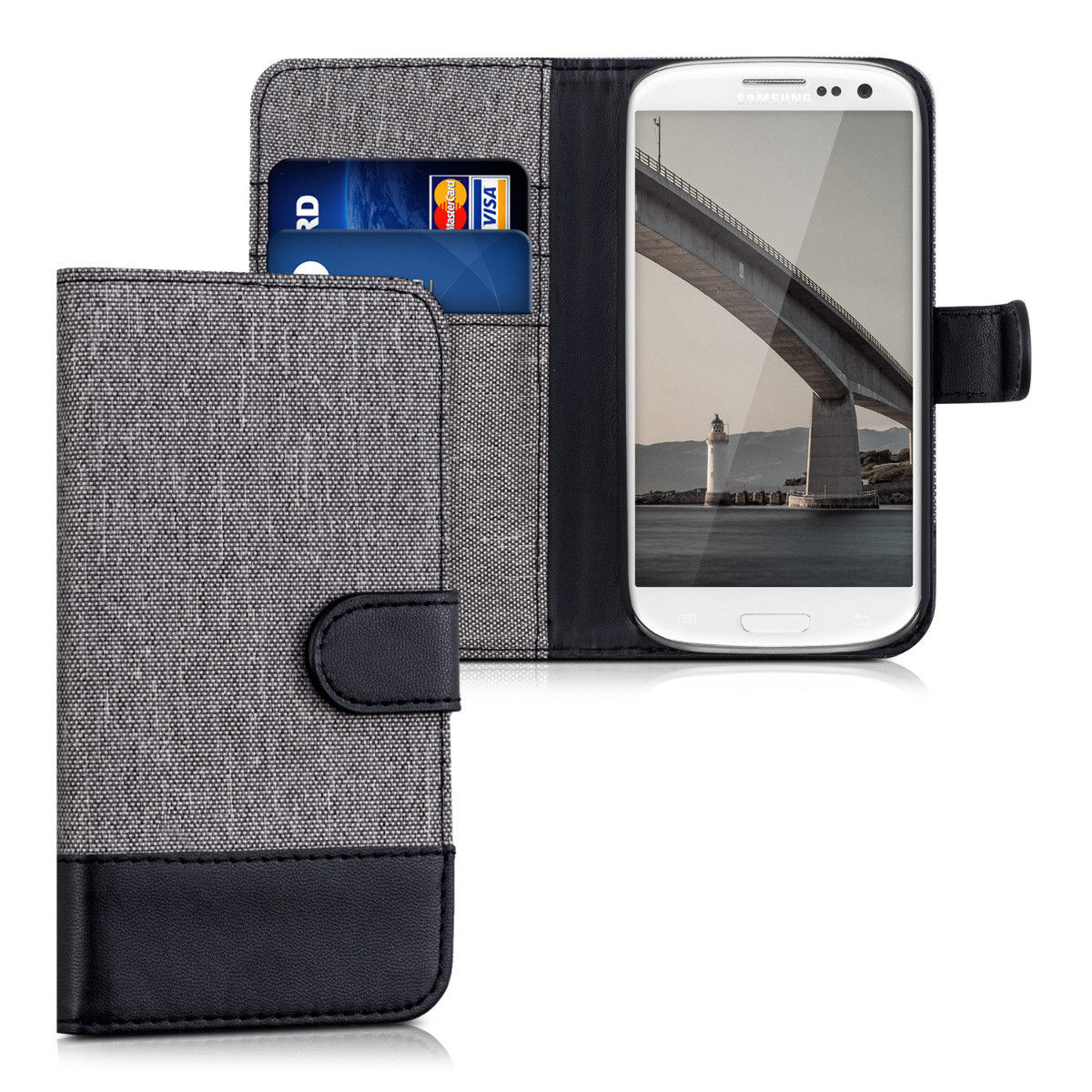 Pouzdro pro Samsung Galaxy S3 Neo šedé