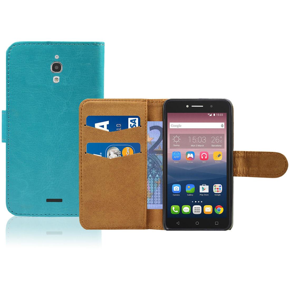 Pouzdro pro Alcatel Pixi 4 (6) 4G modré