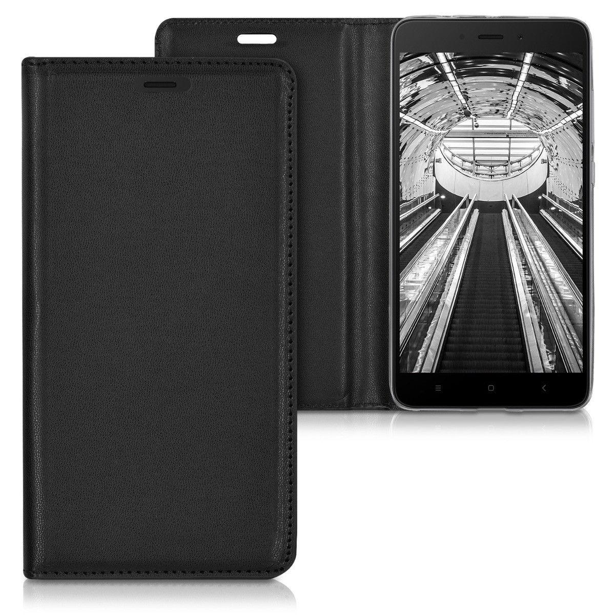Pouzdro FLIP pro Xiaomi Redmi Note 4 Global černé