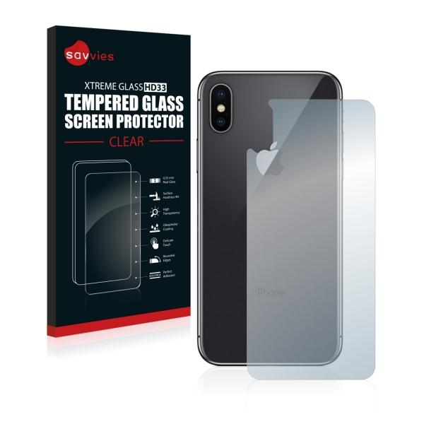 Tvrzené sklo Tempered Glass HD33 Apple iPhone X - zadní část