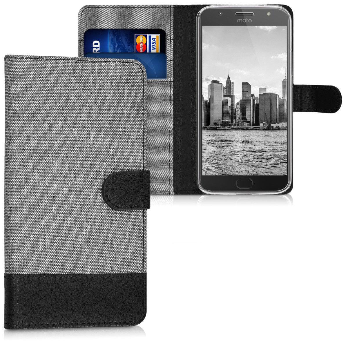 Pouzdro pro Lenovo Moto G5S Plus šedé