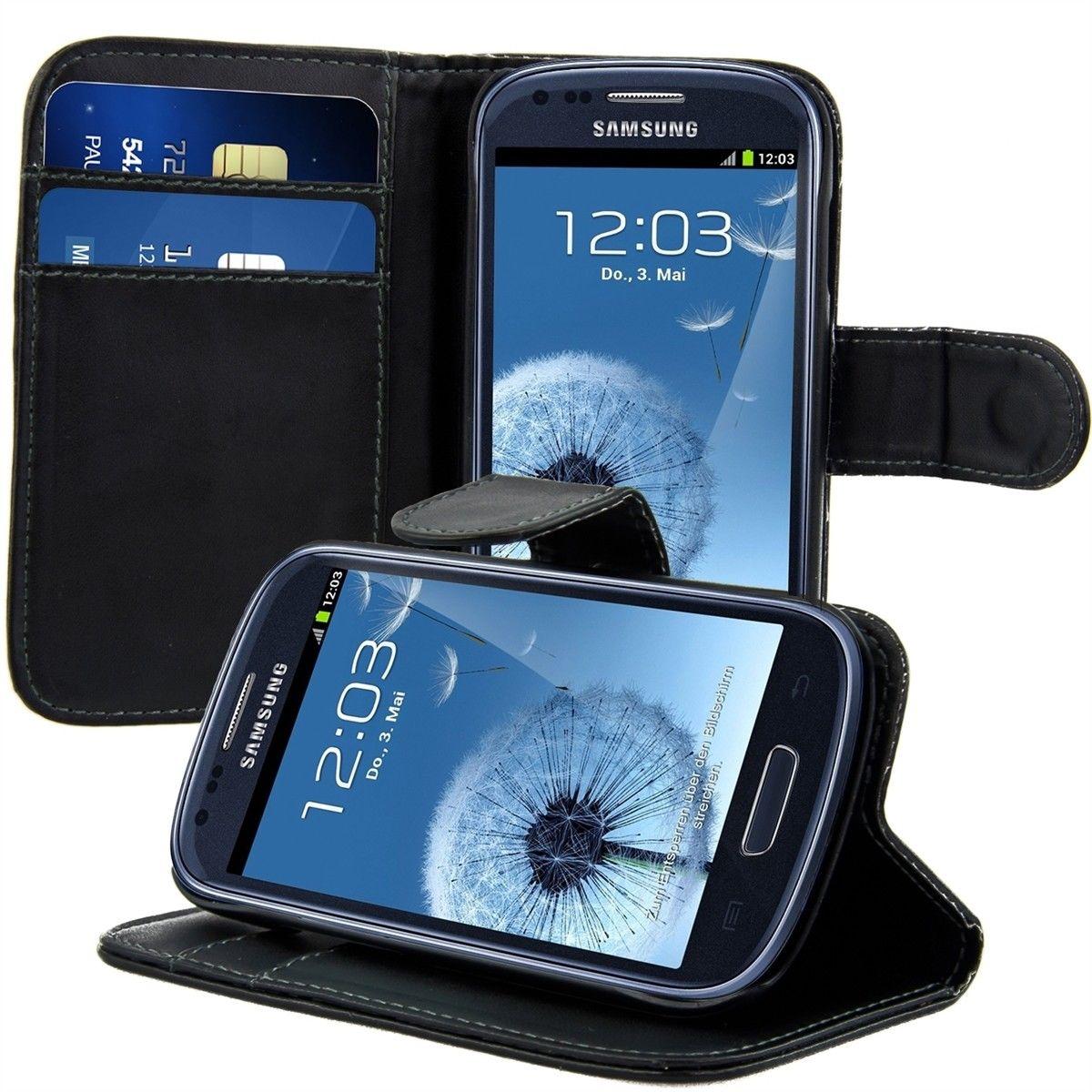 Pouzdro pro Samsung Galaxy S3 Mini černé